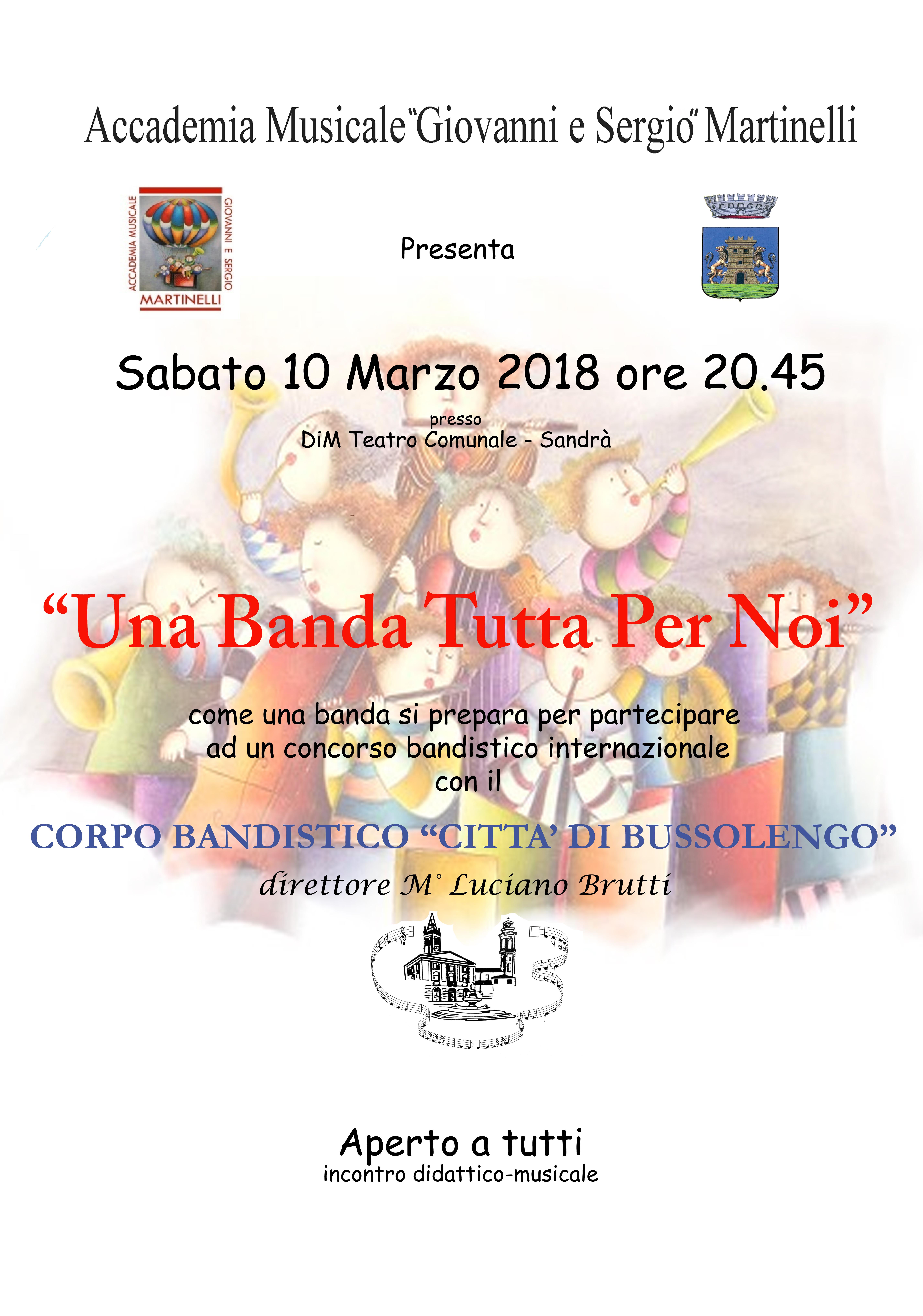 Banda Bussolengo Sandrà 2018